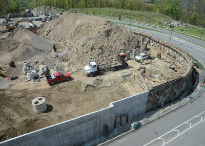 Retaining Wall at Ridge Hill, Yonkers, NY
